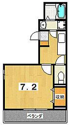 Fiore紫竹[3階]の間取り