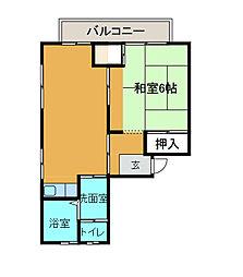 麻生アルトピア[1階]の間取り