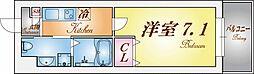 ロフティカミワカsecond[2階]の間取り