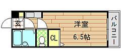 大宝小阪本町ル・グラン[405号室]の間取り