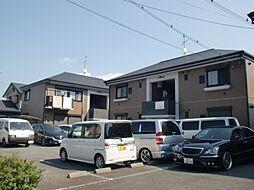 滋賀県栗東市大橋5丁目の賃貸アパートの外観