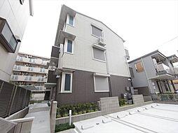 愛知県名古屋市東区筒井2丁目の賃貸アパートの外観