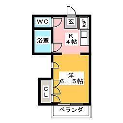 CORE8 井尻[2階]の間取り
