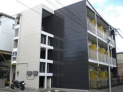 東京都足立区神明2丁目の賃貸マンションの外観