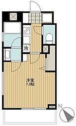 CARINO TAKAHATAFUDO[2階]の間取り
