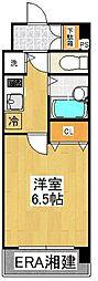 ドルチェ横浜・桜木町[405号室]の間取り