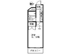 ブランシュ国分寺[3階]の間取り
