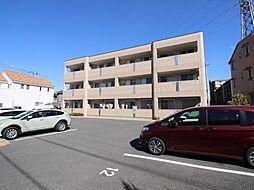 千葉県流山市十太夫の賃貸マンションの外観