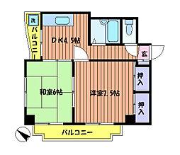 吉祥ビル[2階]の間取り