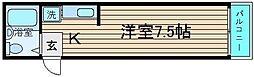 堺陽明ハイツ[5階]の間取り