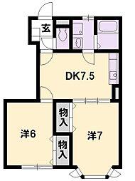 Casa Twenty-one[1階]の間取り