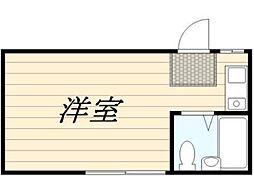 ドミー東高円寺[1階]の間取り