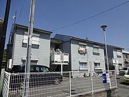 兵庫県加東市下滝野の賃貸アパートの外観