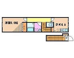 SAKURAII[2階]の間取り