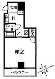 シェモアSasaki[1階]の間取り