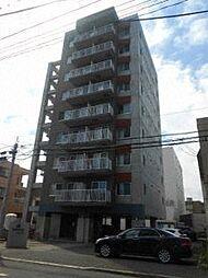 北海道札幌市中央区南十三条西8丁目の賃貸マンションの外観
