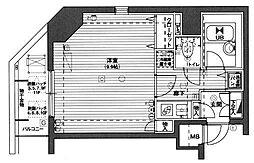 ガラ・ステージ京橋[601号室]の間取り