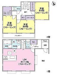 [一戸建] 東京都東久留米市前沢4丁目 の賃貸【東京都/東久留米市】の間取り