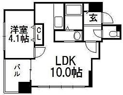 PRIVE菊水[7階]の間取り