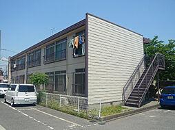 木村ハイツ[201号室]の外観