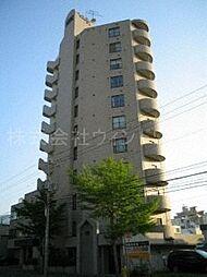 北海道札幌市中央区南二条西18丁目の賃貸マンションの外観