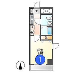 ニッコーテラス[3階]の間取り