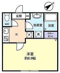 シエロII[2階]の間取り