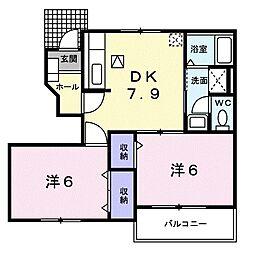 コンフォールY・T II[1階]の間取り