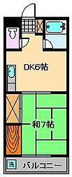 エレガンスBIN[4階]の間取り