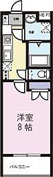 ラメール天白[305号室]の間取り