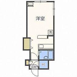 シティPOSHa[3階]の間取り