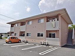 山梨県甲府市西下条の賃貸アパートの外観