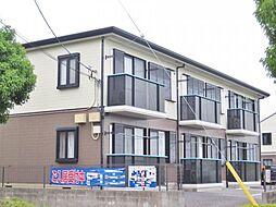 千葉県大網白里市ながた野1丁目の賃貸アパートの外観
