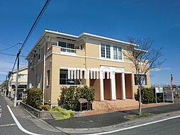 愛知県名古屋市中川区東かの里町の賃貸アパートの外観