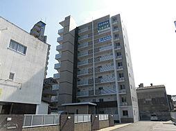福岡県久留米市松ケ枝町の賃貸マンションの外観
