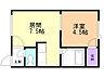 間取り,1DK,面積25.51m2,賃料3.5万円,バス くしろバス釧路公立大学前下車 徒歩4分,,北海道釧路市文苑4丁目12-3