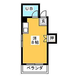 インテリジェント神宮[2階]の間取り