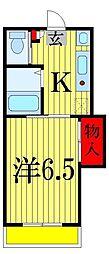 永和第五ビル[4階]の間取り