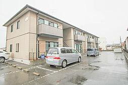 岡山県岡山市中区湊の賃貸アパートの外観