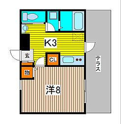 PRIMAVER[2階]の間取り
