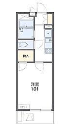 中川II[3階]の間取り