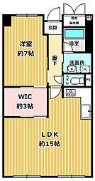 アプリーレ武庫川[4階]の間取り