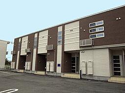 新潟県村上市天神岡の賃貸アパートの外観