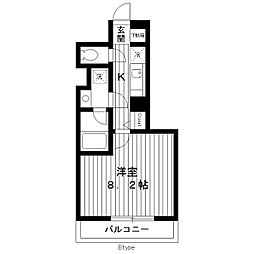 東京都練馬区北町5丁目の賃貸マンションの間取り