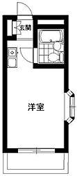 マリオン板橋[4階]の間取り