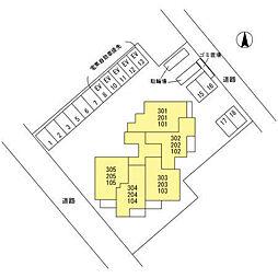 (仮)D-room南鳩ヶ谷2丁目[204号室]の外観