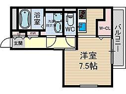 ミューイチマサ[3階]の間取り