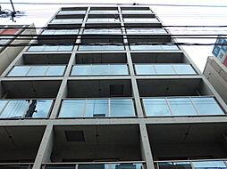 大阪府大阪市東住吉区東田辺1丁目の賃貸マンションの外観