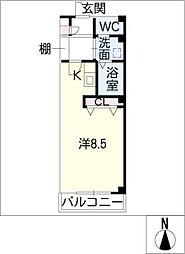 セレス[2階]の間取り