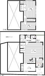 [テラスハウス] 東京都杉並区南荻窪2丁目 の賃貸【東京都 / 杉並区】の間取り